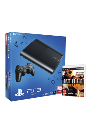 Consola Playstation 3 500 GB + Battlefield Hardline