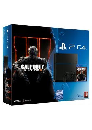 Consola Playstation 4 500 GB Bundle COD Black OPS III