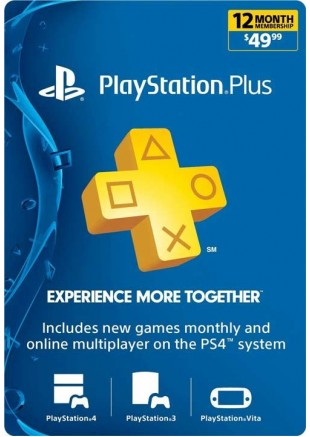 PSN PLUS 12 Meses GIFT CARD