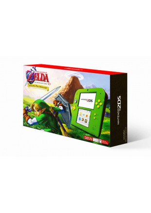 Consola 2DS The Legend of Zelda Ocarina of Time Edition