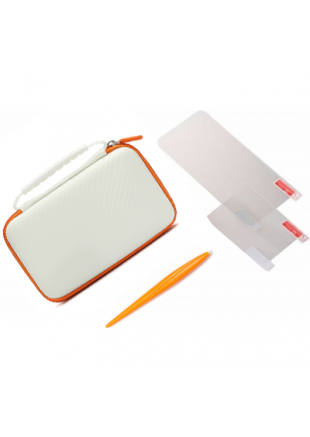 Kit Bolso White + Micas New 2ds xl