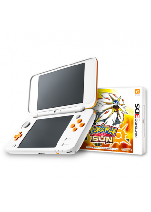 Consola New Nintendo 2DS XL WHITE + Pokemon Sun