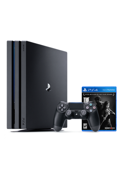 Consola Playstation 4 PRO 1TB Black + The Last Of Us