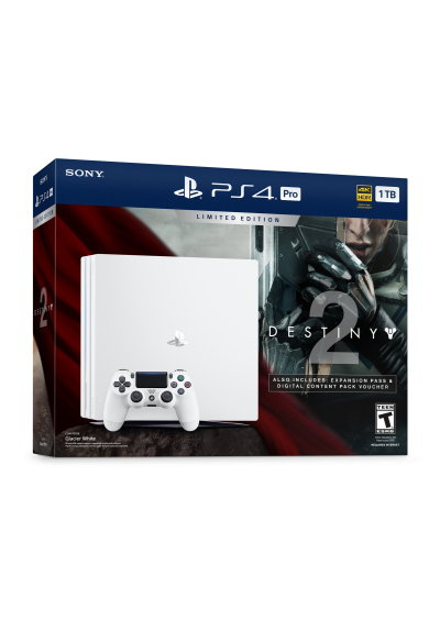 Consola Playstation 4 PRO 1TB WHITE Bundle Destiny 2