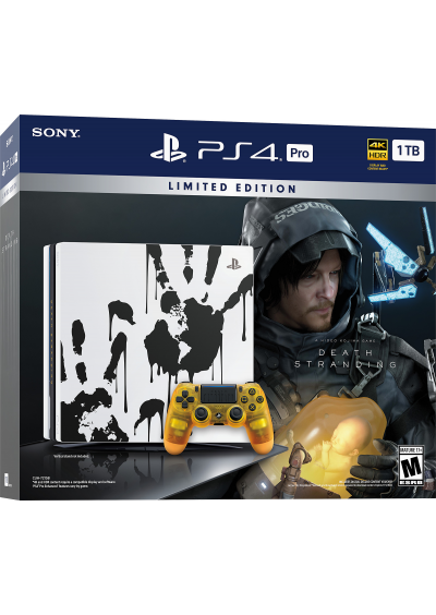 Consola Playstation 4 PRO 1TB Death Stranding LIMITED EDITION