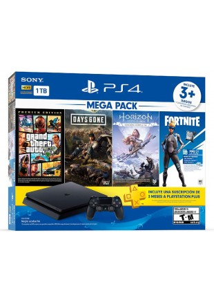 Consola Playstation 4 1 TB HITS BUNDLE 6