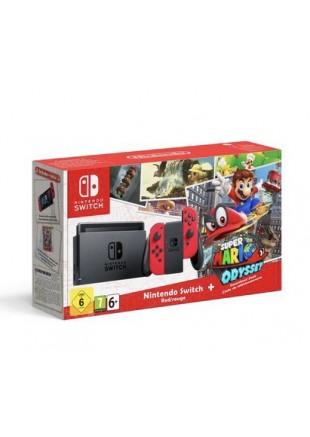 Consola Nintendo Switch Bundle Super Mario Odyssey