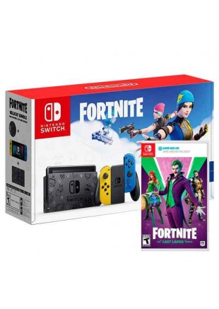 Consola Nintendo Switch Fortnite Edition + The Last Laugh Pack