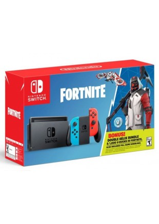 Consola Nintendo Switch Neon Fortnite Double Helix Bundle
