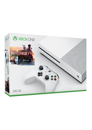 Consola Xbox ONE S 500 GB Bundle Battlefield 1