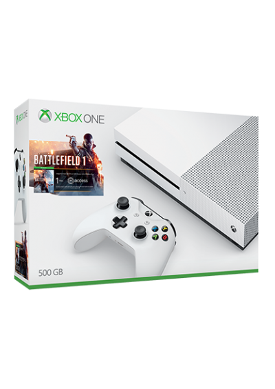 Consola Xbox ONE S 500 GB Bundle Bttlefield 1