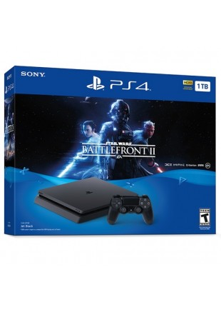 Consola Playstation 4 1 TB SLIM Bundle Star Wars Battlefront 2