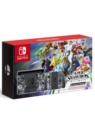 Consola Nintendo Switch Bundle Super Smash Bros Ultimate