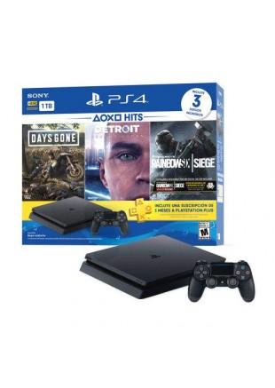 Consola PlayStation 4 1TB Slim Hits Bundle 5