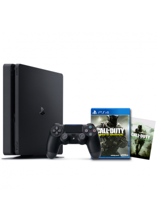 Consola Playstation 4 500GB SLIM Black + COD PACK