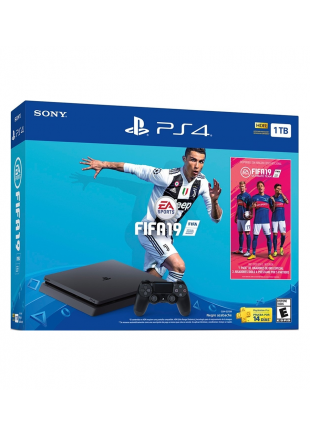 Consola Playstation 4 Slim 1TB Bundle FIFA 19