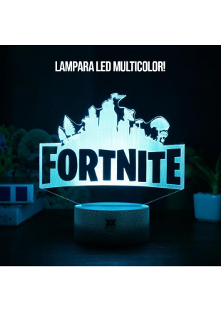 Lampara LED Fortnite