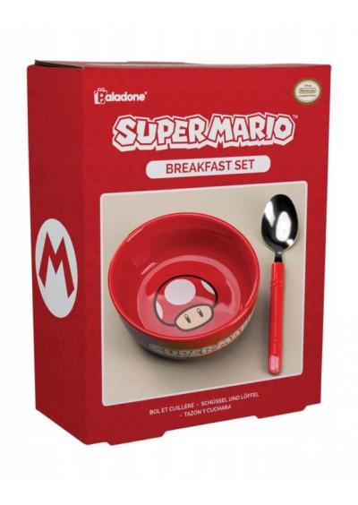 Set de desayuno Super Mario Bros