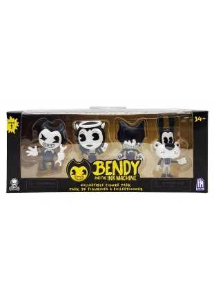 Set 4 figuras Bendy And The Ink Machine 7 CM