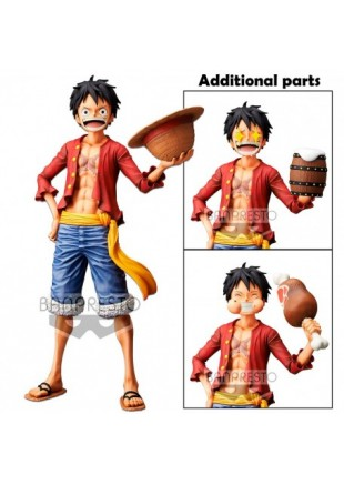 Figura Grandista One Piece: Monkey D. Luffy