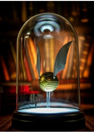 Golden Snitch Lamp