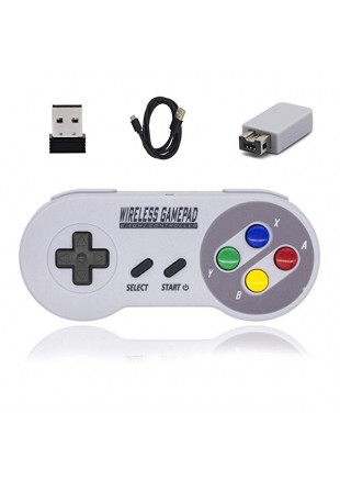 Control Inalámbrico para SNES mini/ PC (EU)