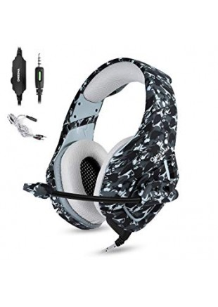 Gaming Headset ONIKUMA K1B Gray Camo