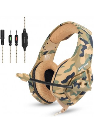 Gaming Headset ONIKUMA K1B Camo