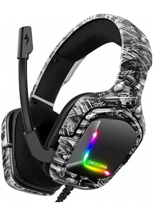 Headset Gamer Onikuma K20 RGB LED