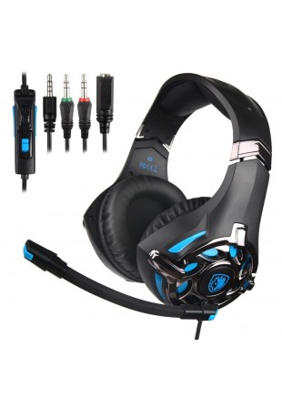 Headset Sades SA-822 para PS4 / Switch / One / PC