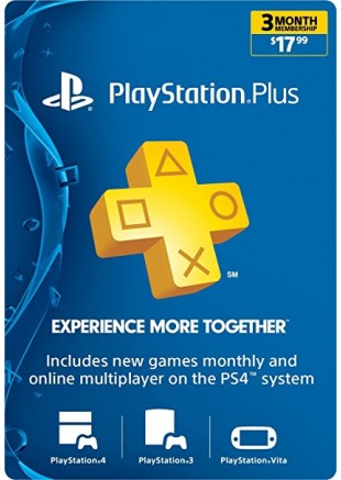 PSN PLUS 3 Meses GIFT CARD