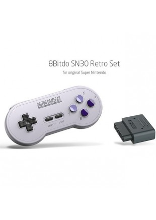 SN30 Bluetooth Controller  8BITDO SNES/SWITCH/PC