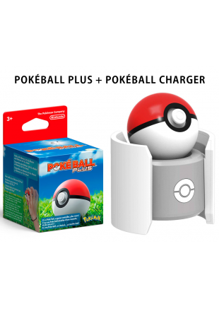Pokéball Plus + Pokéball Charger