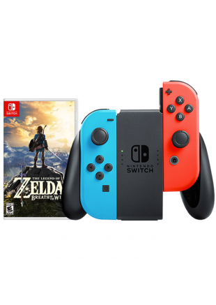 Consola Nintendo Switch Neon + The Legend of Zelda Breath of The Wild