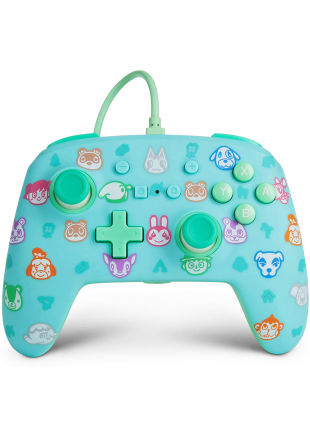 Wired Controller PowerA Animal Crossing Edition NSW