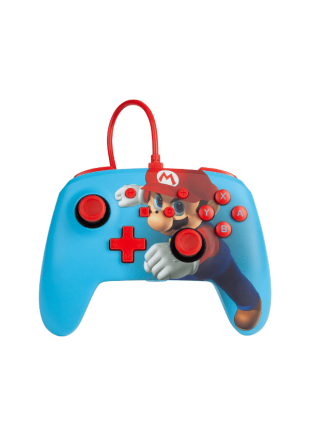Wired Controller PowerA Mario Punch NSW