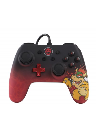 Wired Controller PowerA Bowser Edition NSW