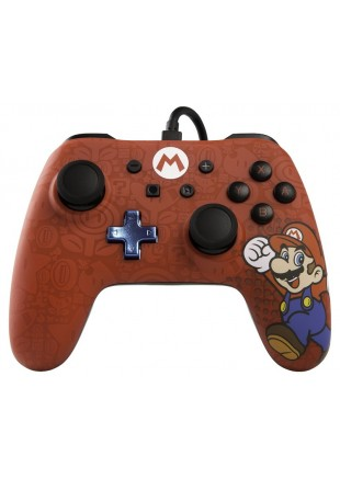 Wired Controller PowerA Mario Edition NSW