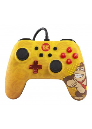 Wired Controller PowerA Donkey Kong Edition NSW