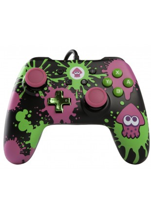 Wired Controller PowerA Splatoon Edition