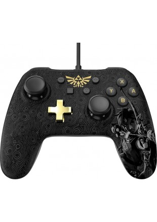 Wired Controller PowerA Zelda Breath of the Wild Edition NSW