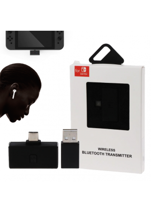 Transmisor Bluetooth de Audio para Nintendo Switch / PS4 / PC