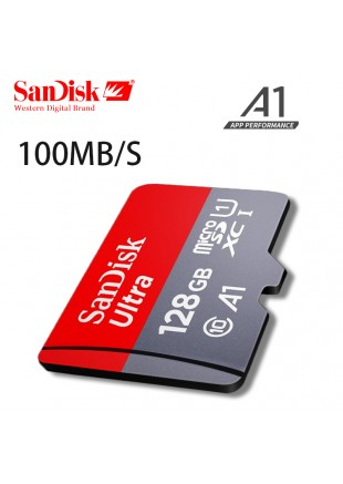 Micro SD SanDisk 128 GB Clase 10