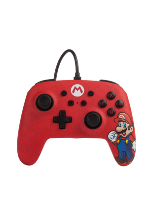 Wired Controller PowerA New Mario Edition NSW