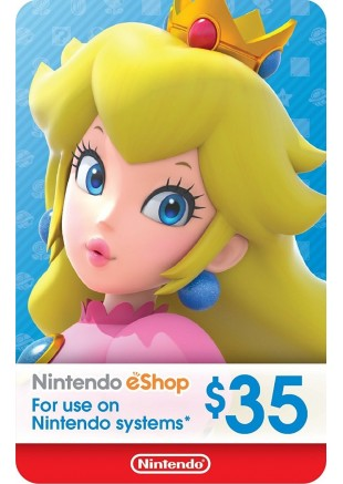 NINTENDO ESHOP 35 USD GIFT CARD (DIGITAL)
