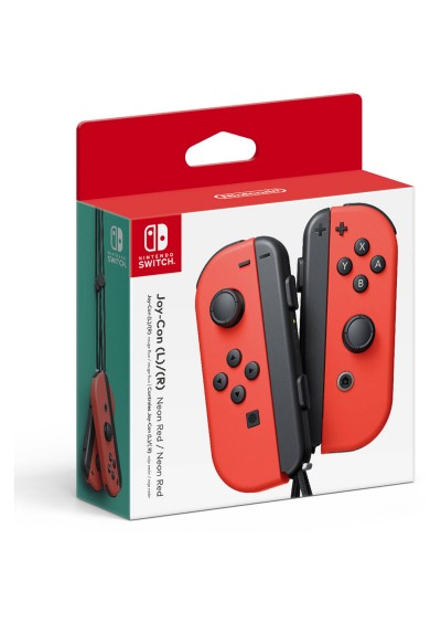 Nintendo Switch Joy-Con Set Neon RED
