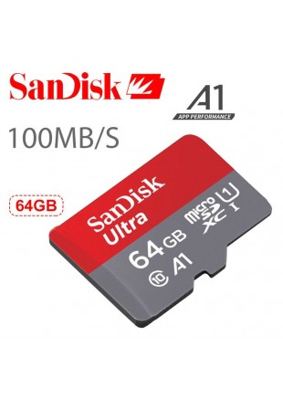 Micro SD SanDisk 64 GB Clase 10