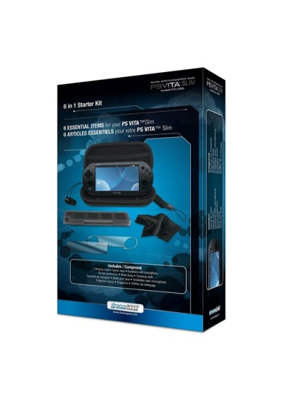 Starter Kit DreamGear 6 en 1 para PlayStation Vita Slim