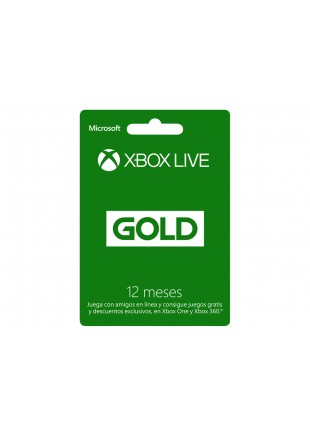 XBOX Live Chile Gold 12 meses