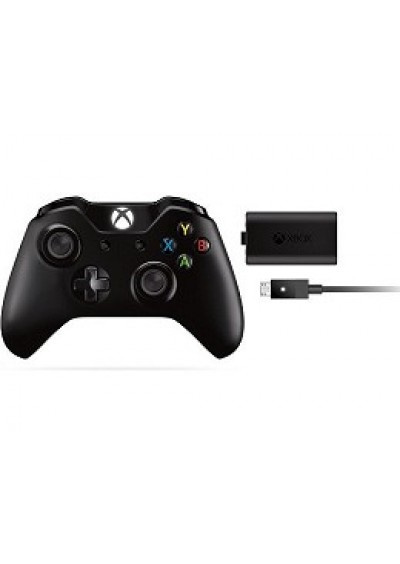 Control Inalámbrico + Play & Charge Kit XBOX ONE